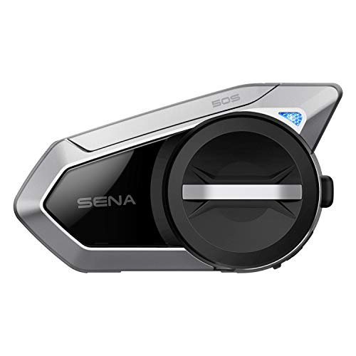 Sena 50S Motorrad Bluetooth Kommunikationssystem mit Mesh 2.0 Intercom