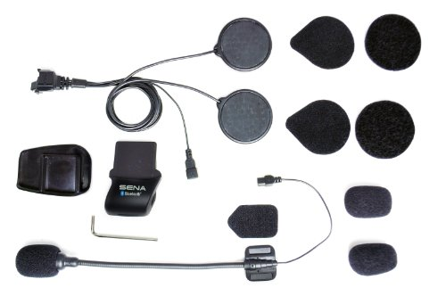 Sena SMH5-A0311 Helmklemmenset mit Steckverbinder - anbringbares Bügelmikrofon