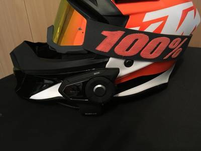 Sena 30K Test am KTM Helm