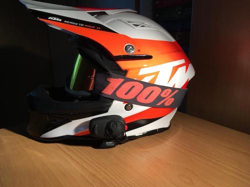 Sena SMH5 Test | Erfahrung an KTM Helm verbaut