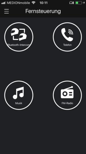 Sena SF4 Test |Erfahrungen App Screenshot