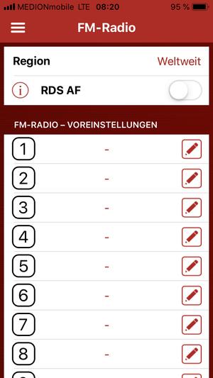 Sena 10c Pro Test App IOS Betriebssystem