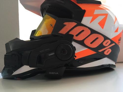 Sena 10C Pro Test mit KTM Helm