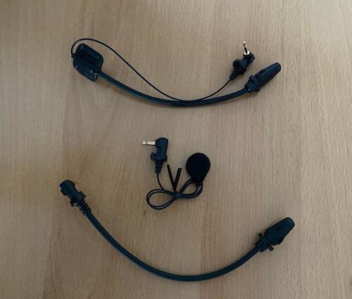 Sena 50R Test Mikrofon - 3x Mikrofon
